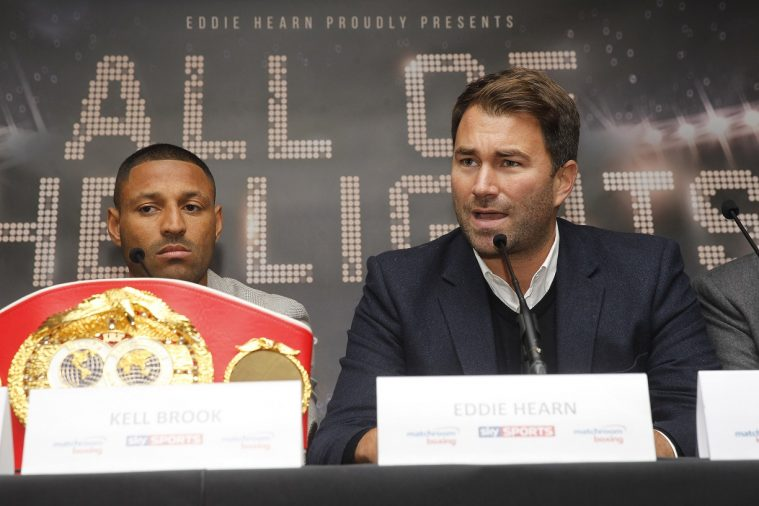 Kell Brook & Eddie Hearn