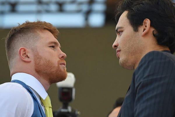 Canelo vs Chaves Jr