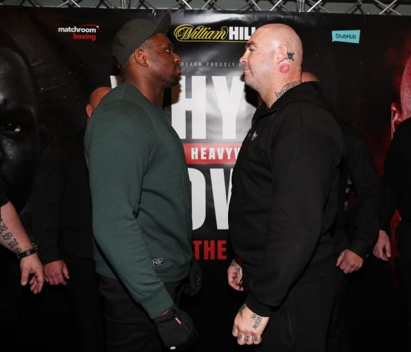 Whyte vs Browne